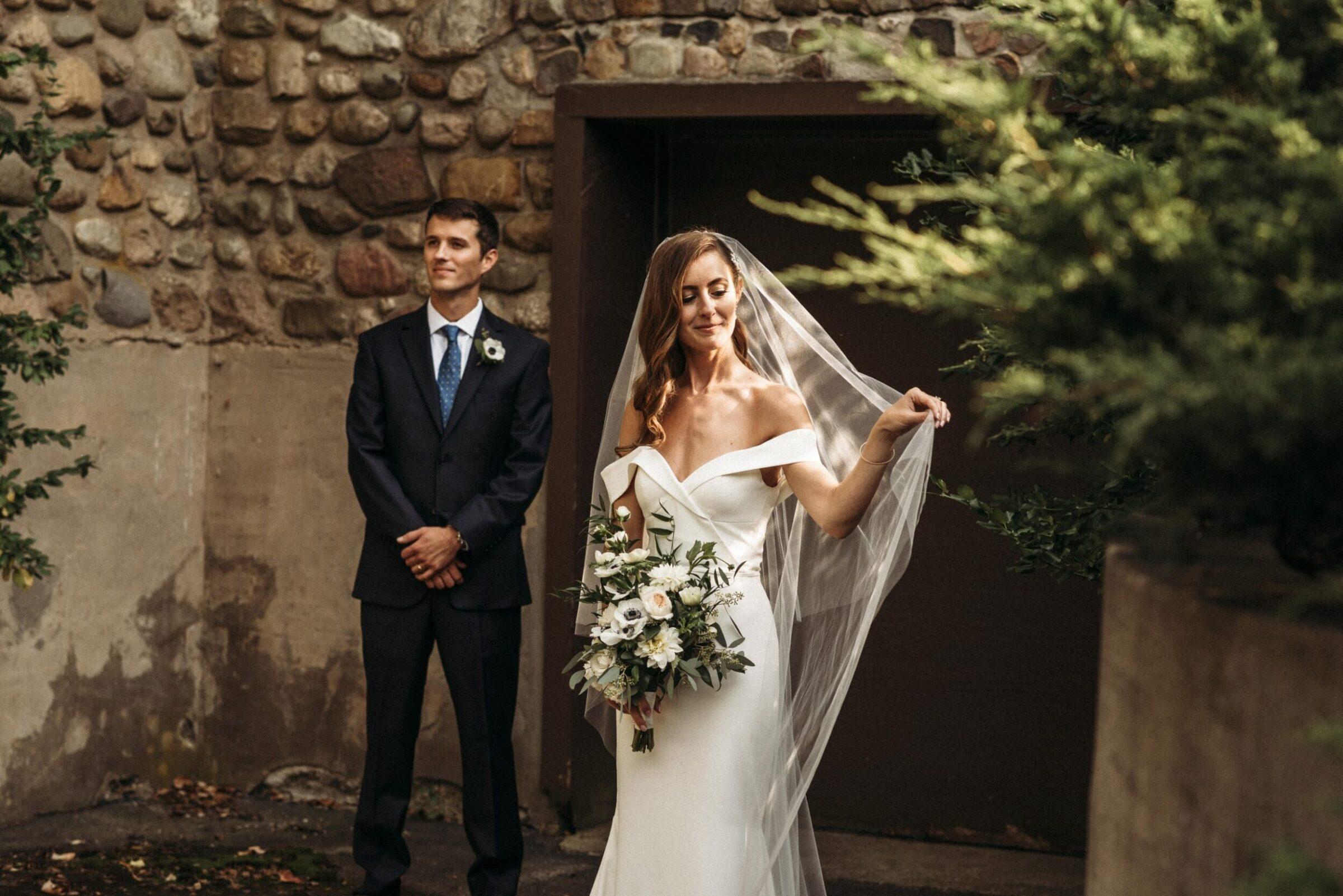 Stunning fall wedding in Michigan